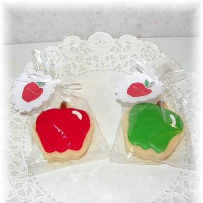 apple teacher cookie