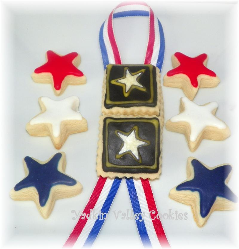 army military cookie birthday