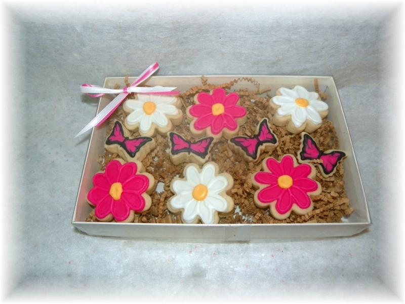 Daisy Butterfly gift box