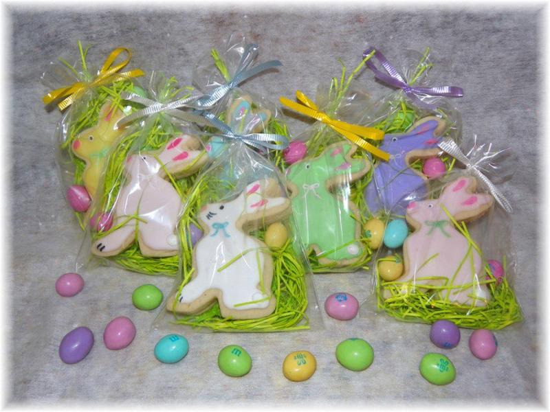 Easter Bunny Cookie favor