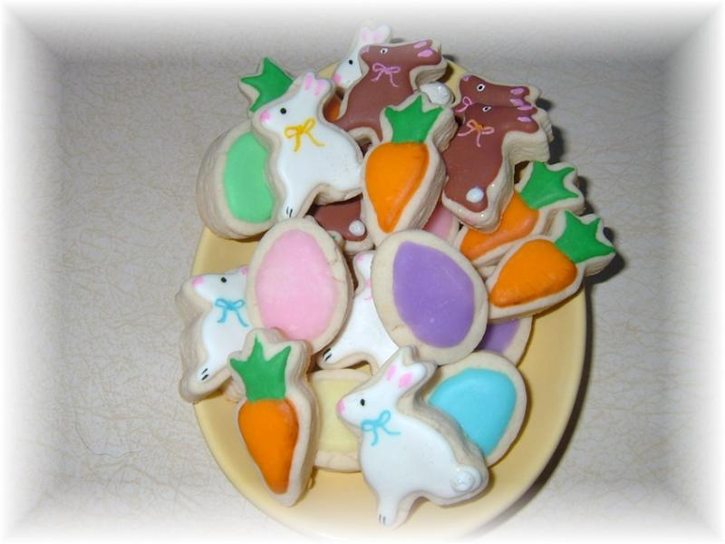 Easter Spring cookie