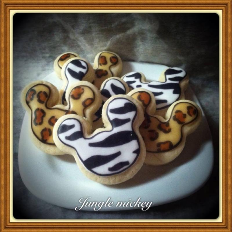 Mickey Mouse Jungle Cookie