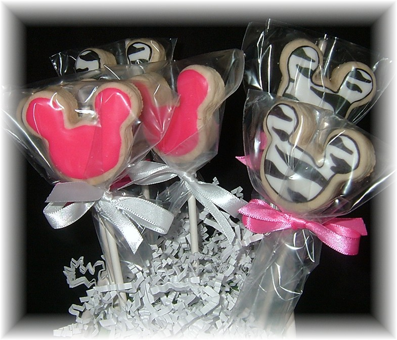 Mickey Minnie Mouse Cookie