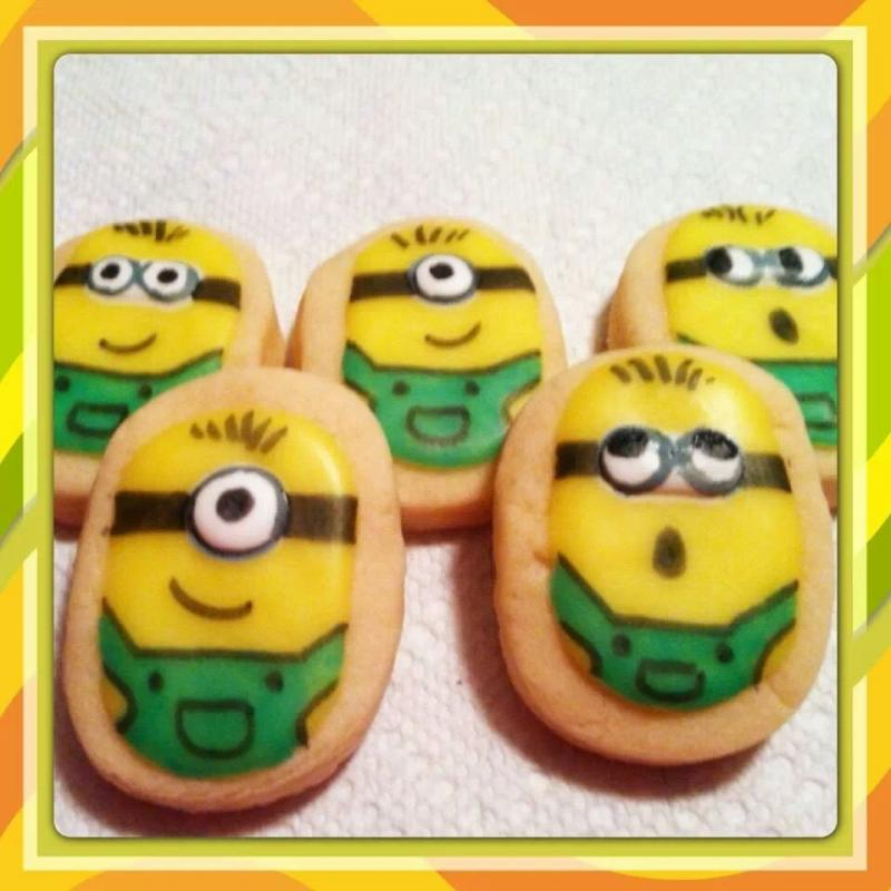 minion cookie birthday
