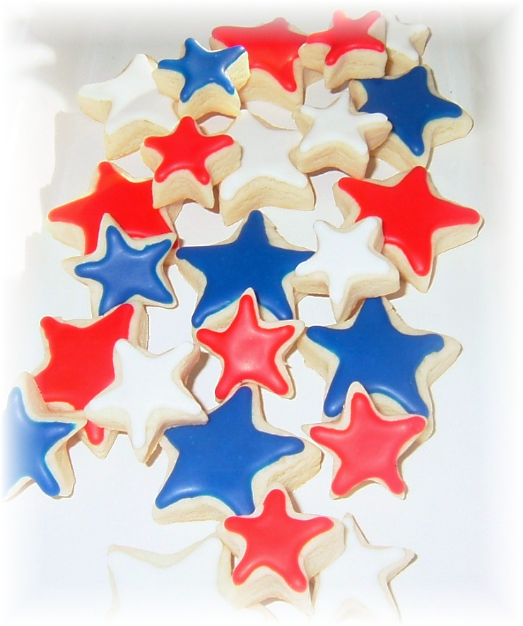 patriotic america cookie