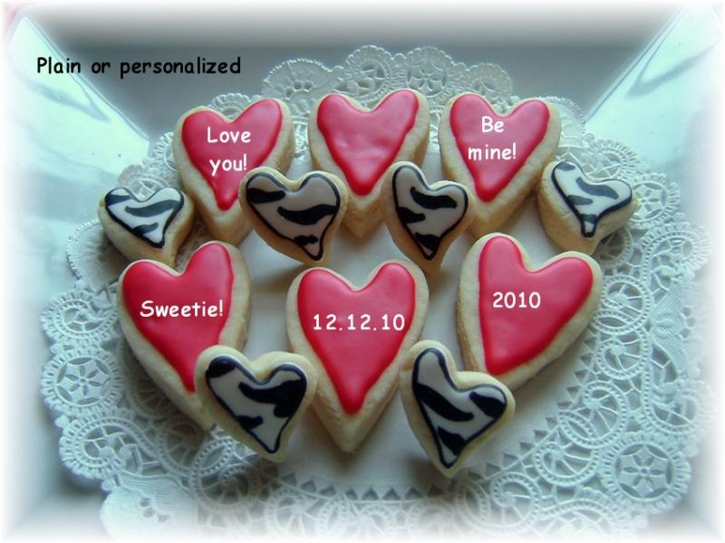 valentine love cookie