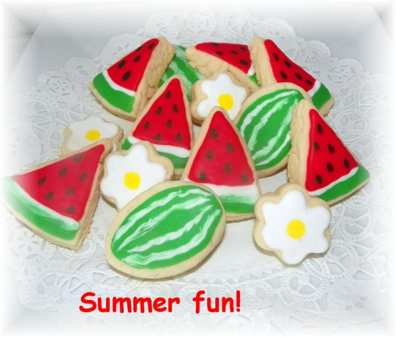 cookie watermellon