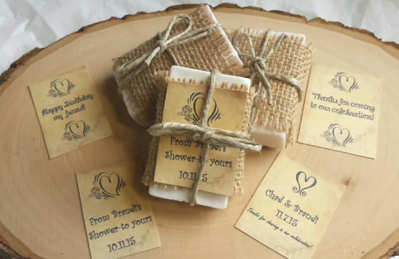 Yadkin valley cookies handmade add on our custom favor tags to personalize your favors with a special message date monogram etc soaps are approximate 2 oz each solutioingenieria Choice Image