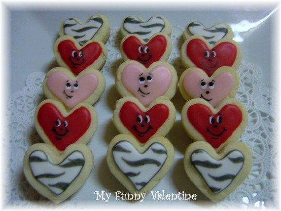 love valentine cute cookie